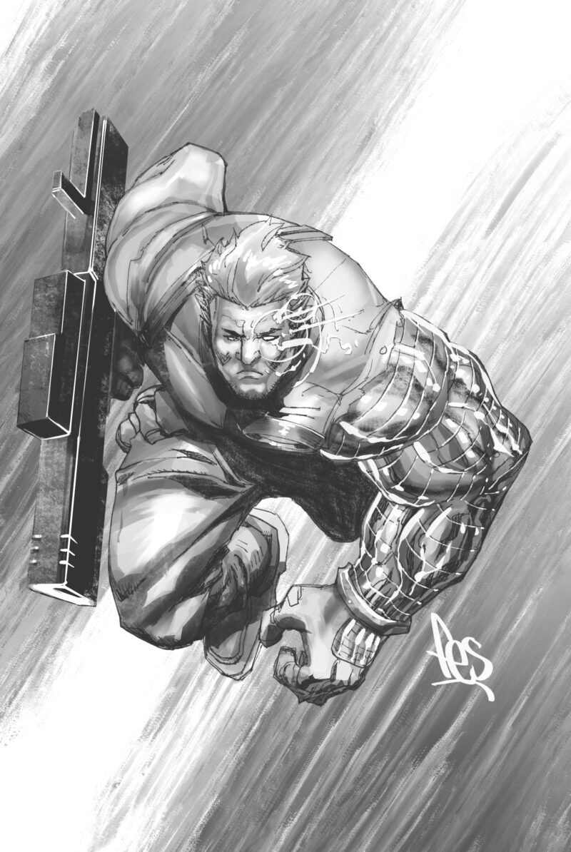Cable Sketch by Mark Henry